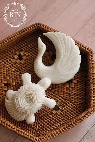 鶴亀 お祝いカービングオーダー 米寿 還暦 喜寿